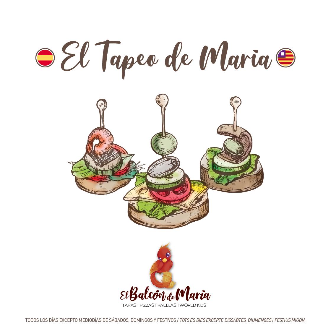 EL TAPEO DE MARÍA ESPAÑOL