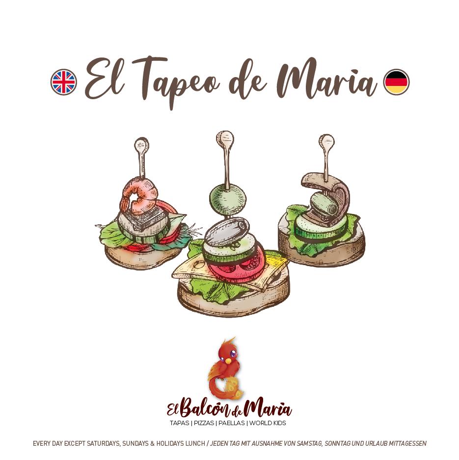 EL TAPEO DE MARÍA ENGLISH