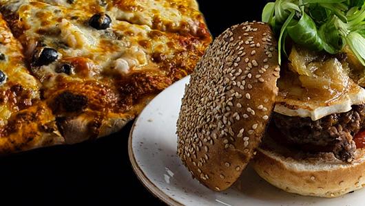 Pizzas, Burgers, Paellas, Woks, Snacks, Empanados Avenida Alemania 1 · Palma 07003 T. 871 004 004