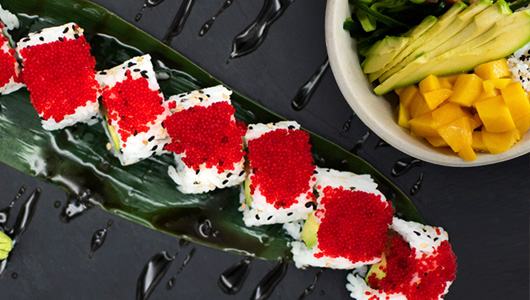 Sushi, Poké Bowl, Wok Avenida Alemania 1 · Palma 07003 T. 871 004 004